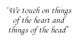 We touch on things...